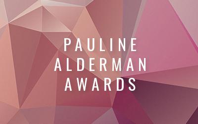 Winners of the 2020 Pauline Alderman Awards